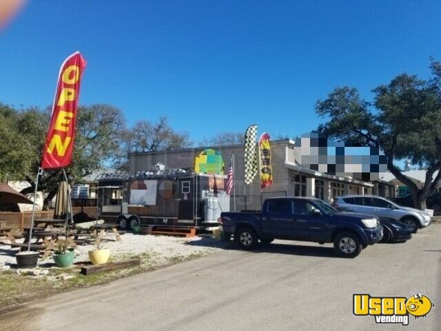 2009 Southwest Trailer Kitchen Food Trailer Concession Window Texas for Sale - 3