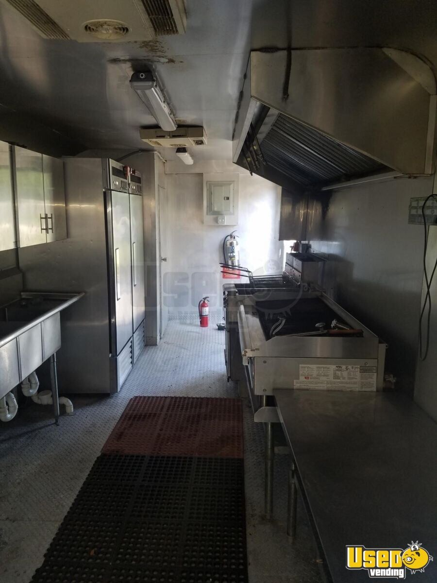 2009 Southwest Trailer Kitchen Food Trailer Diamond Plated Aluminum Flooring Texas for Sale - 8