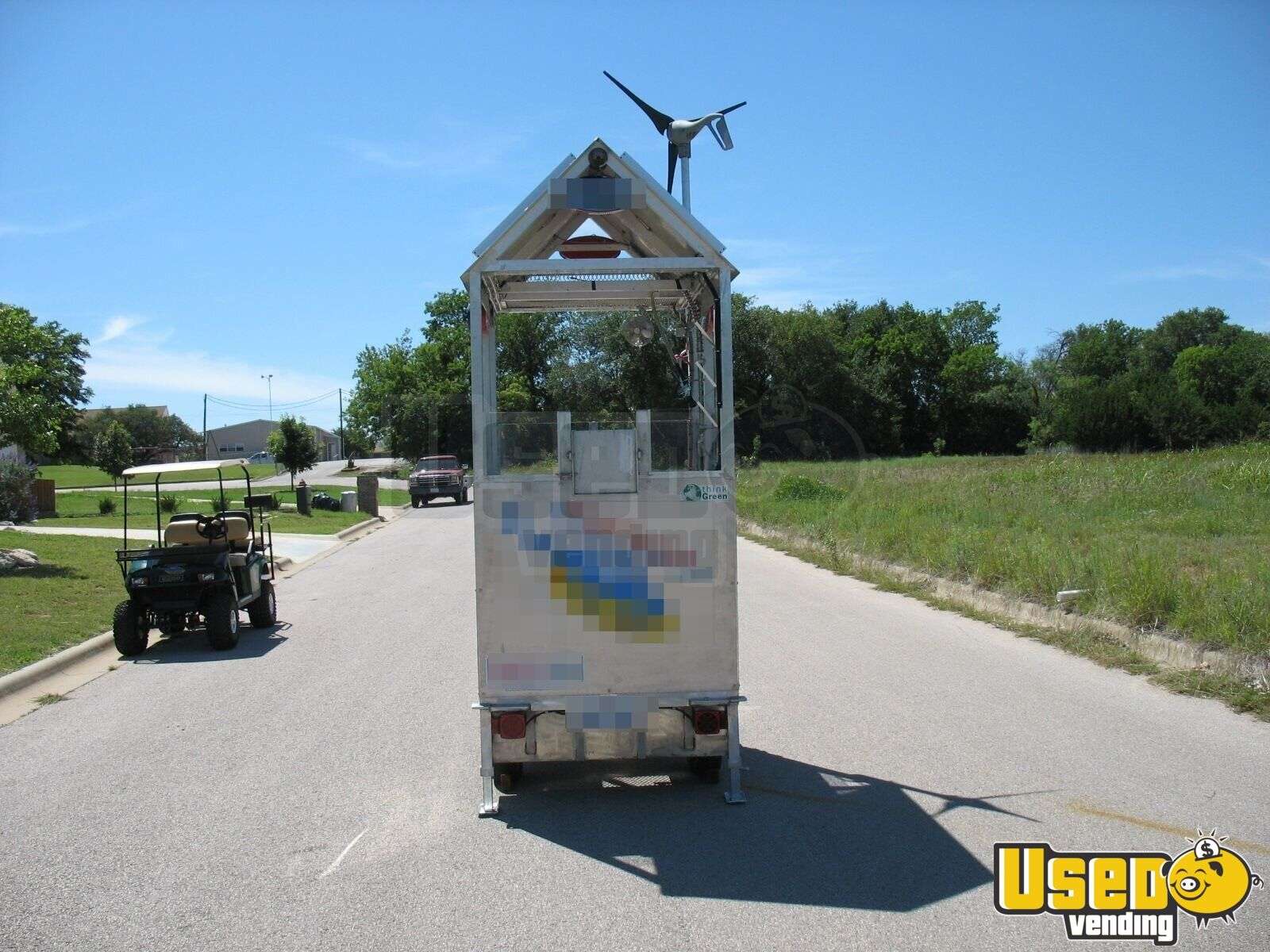 2009 Top Gun Top Dog Self Sufficient Mobile, Model Slt Cart 47 Texas for Sale - 47