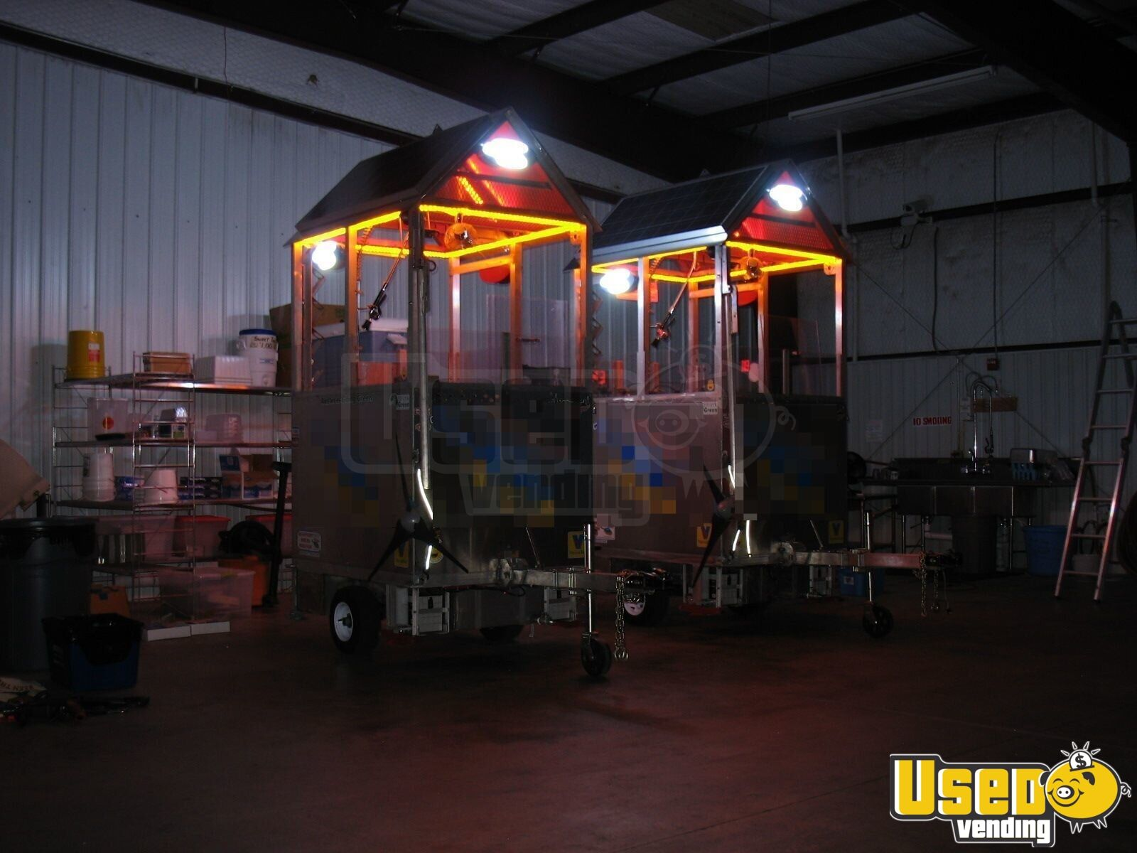 2009 Top Gun Top Dog Self Sufficient Mobile, Model Slt Food Cart 40 Texas for Sale - 40