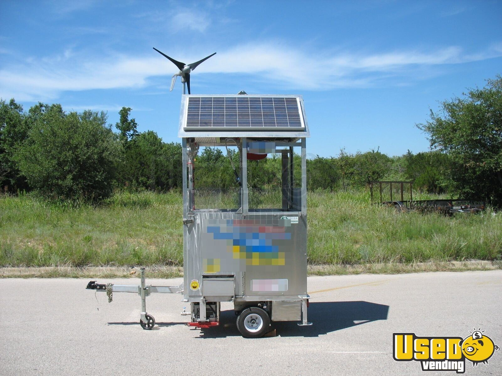 2009 Top Gun Top Dog Self Sufficient Mobile, Model Slt Food Cart 45 Texas for Sale - 45