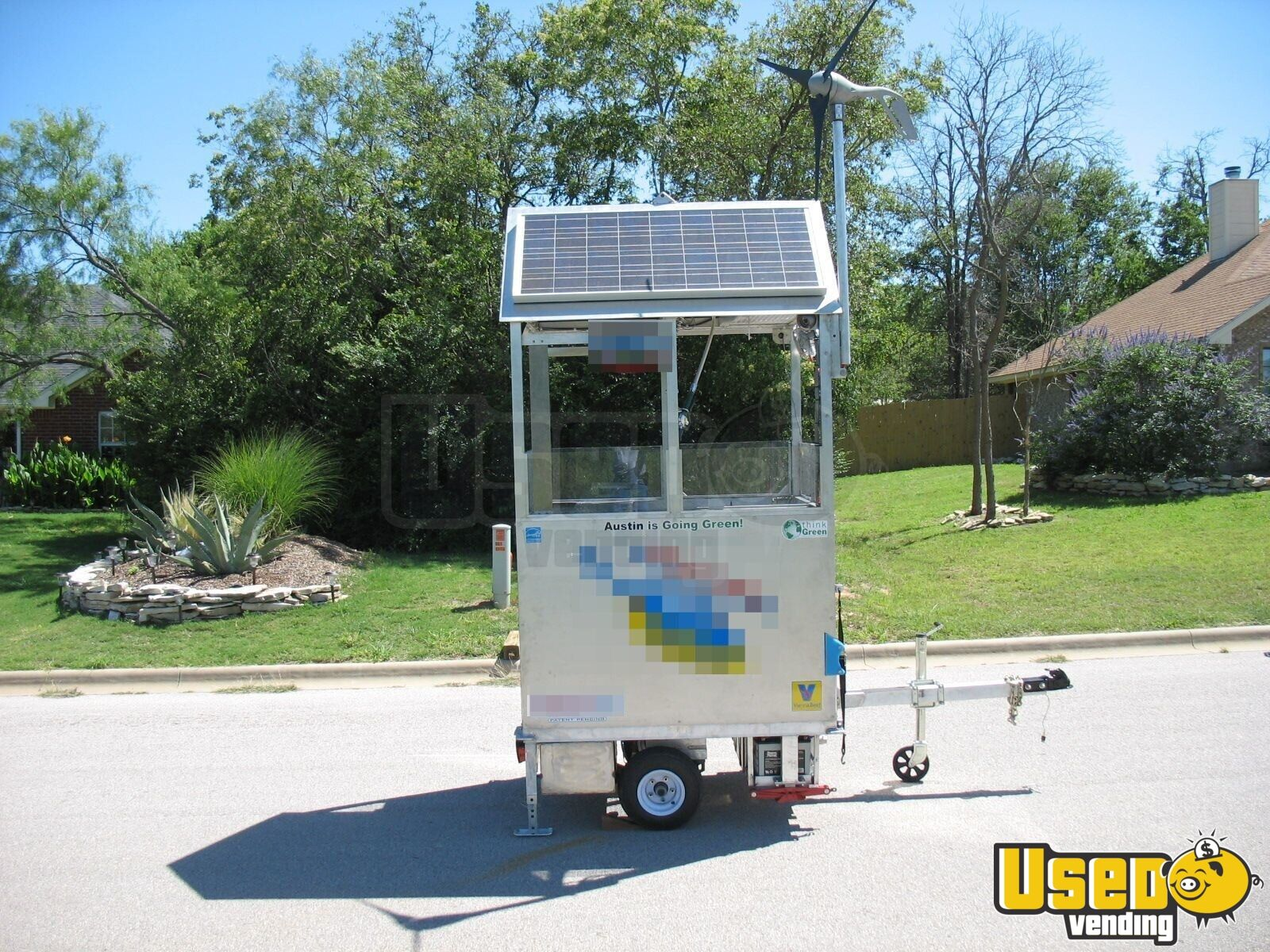 2009 Top Gun Top Dog Self Sufficient Mobile, Model Slt Food Cart 48 Texas for Sale - 48