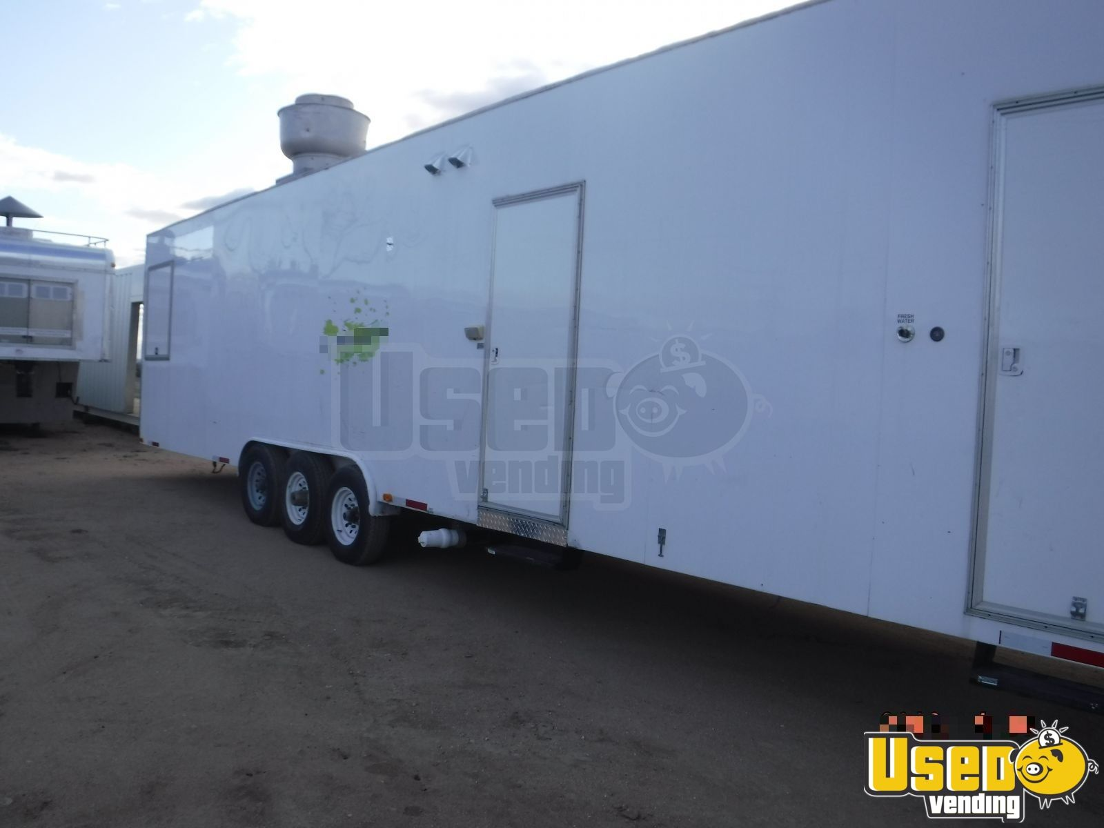 2009 Universal Magnum By California Cart Builder All-purpose Food Trailer Air Conditioning Colorado for Sale - 2