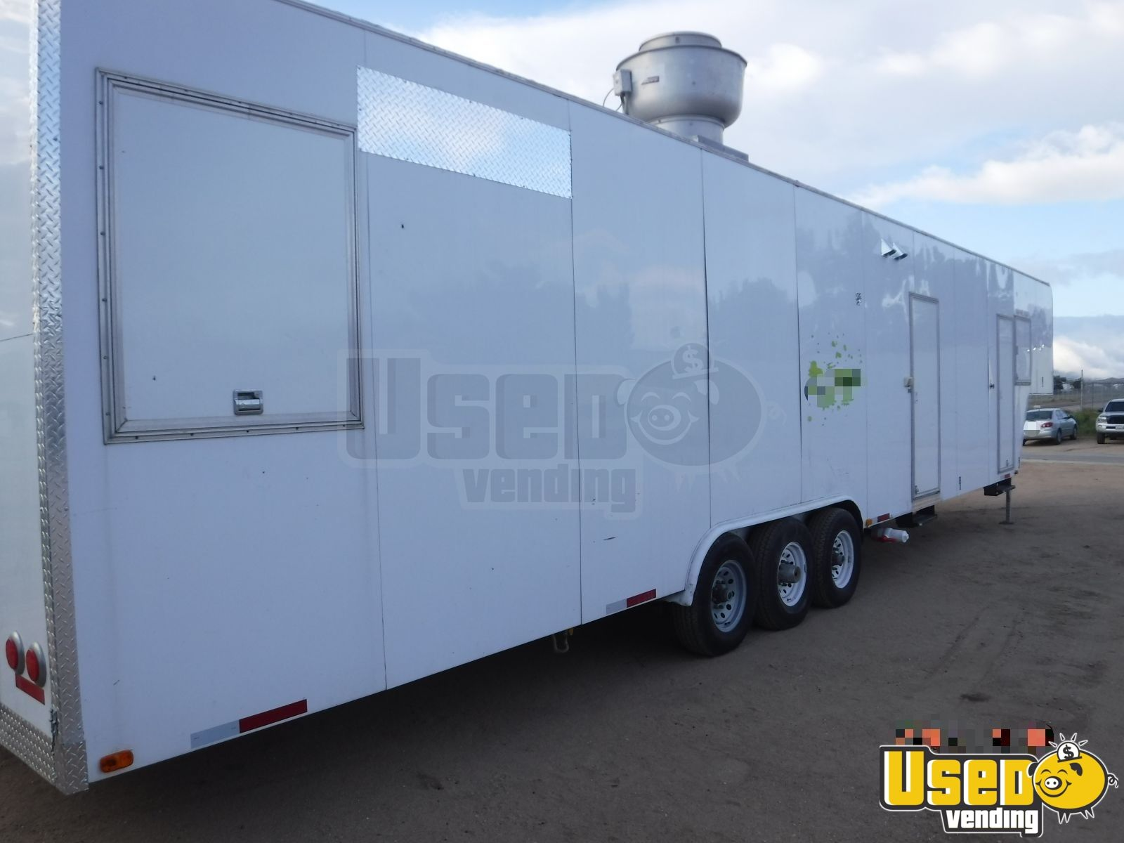2009 Universal Magnum By California Cart Builder All-purpose Food Trailer Concession Window Colorado for Sale - 3