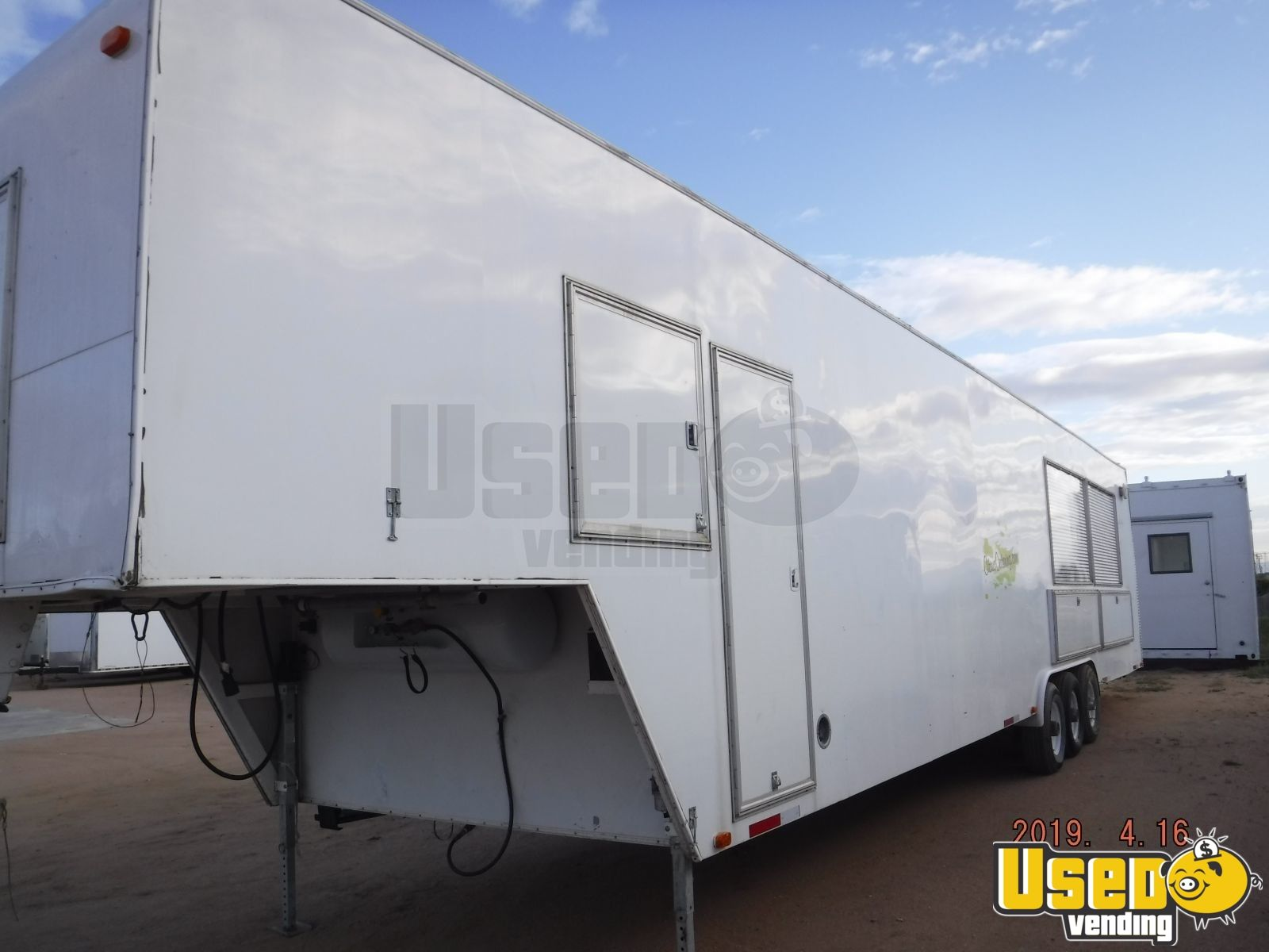 2009 Universal Magnum By California Cart Builder All-purpose Food Trailer Spare Tire Colorado for Sale - 4