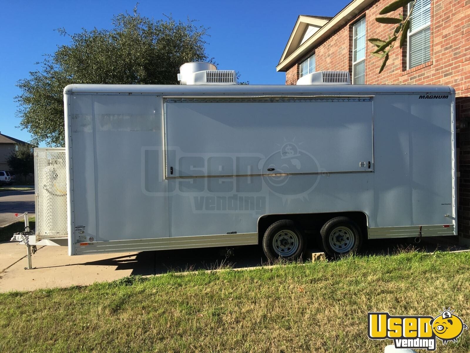 2009 Wells Cargo All-purpose Food Trailer Air Conditioning Texas for Sale - 2