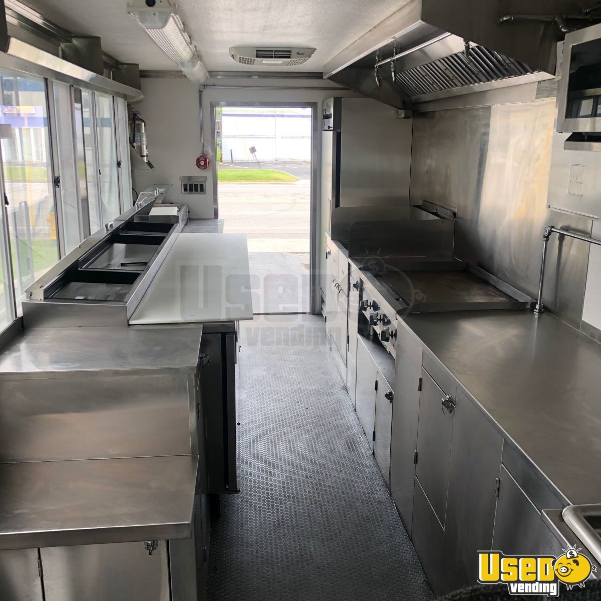 2009 Workhorse Diesel All-purpose Food Truck Flatgrill Utah Diesel Engine for Sale - 7