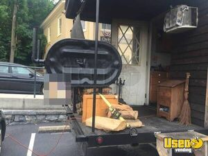 201 Hand-built Barbecue Food Trailer Removable Trailer Hitch Virginia for Sale
