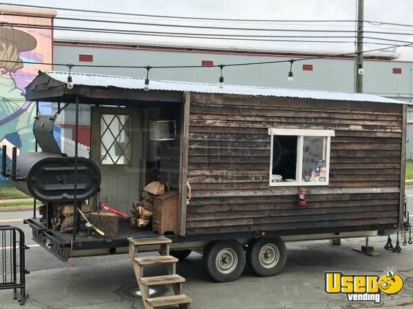 201 Hand-built Barbecue Food Trailer Virginia for Sale