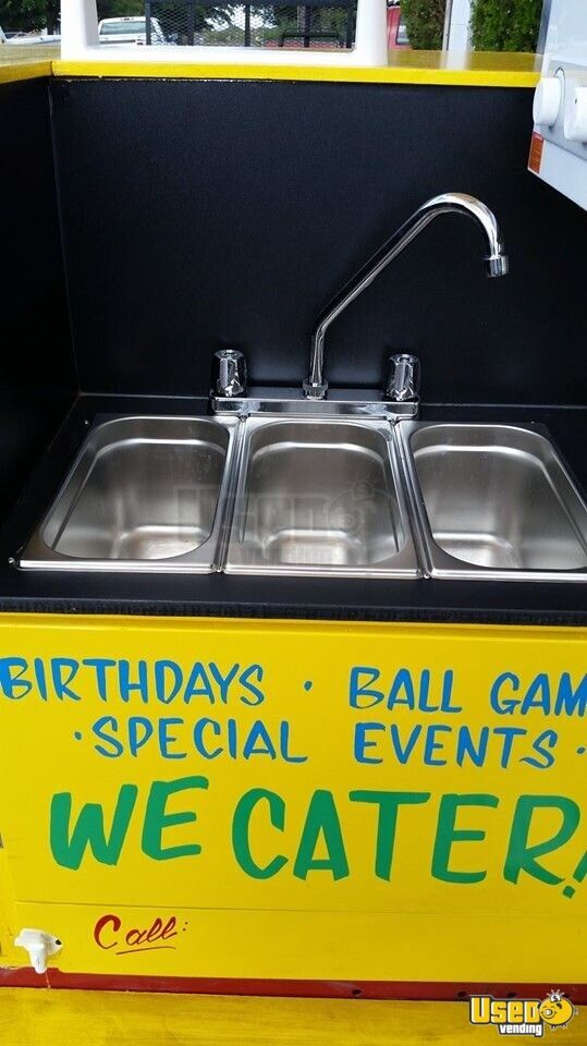 2010 Bens Cart Rebuilt To This In Summer Of 2019 Food Cart Handwash Sink New Mexico for Sale - 7