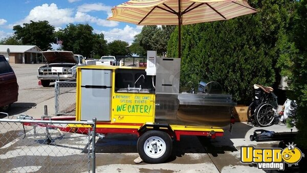 2010 Bens Cart Rebuilt To This In Summer Of 2019 Food Cart New Mexico for Sale