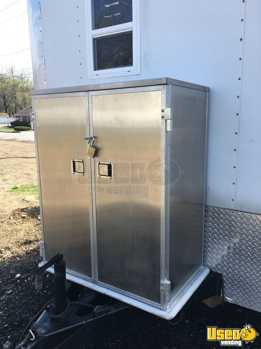 Used Trucks For Sale In Ct >> 2007- 8' x 26' Food / Pizza Concession Trailer | Used Concession Trailer for Sale in Connecticut