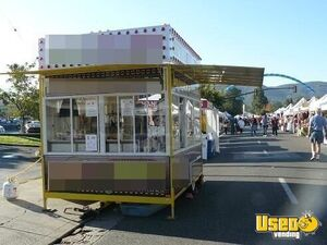 2010 Custom 10 Footer All-purpose Food Trailer Cabinets California for Sale