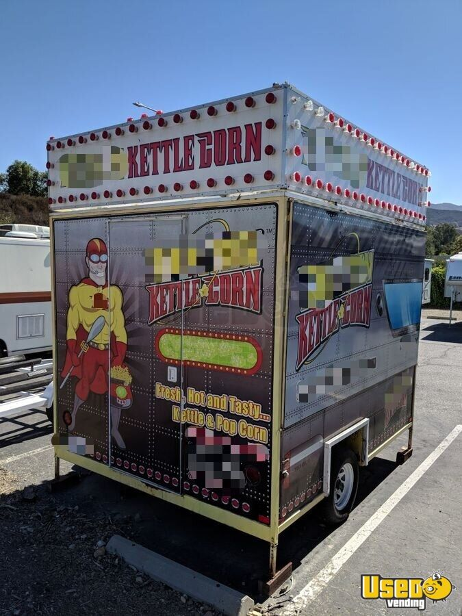 2010 Custom 10 Footer All-purpose Food Trailer Concession Window California for Sale - 2