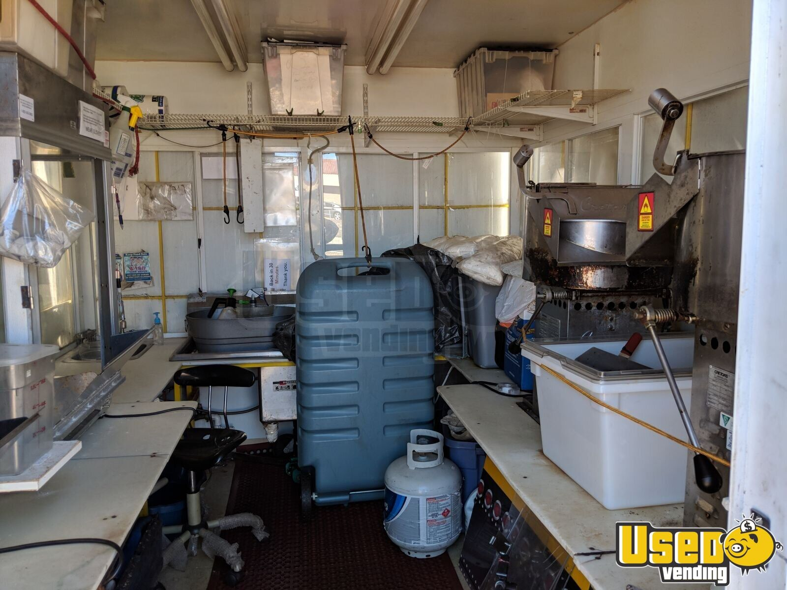 2010 Custom 10 Footer All-purpose Food Trailer Insulated Walls California for Sale - 6