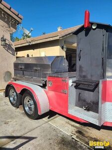 2010 Custom Open Bbq Smoker Trailer Open Bbq Smoker Trailer California for Sale