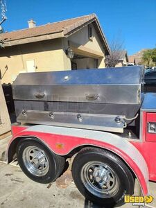 2010 Custom Open Bbq Smoker Trailer Open Bbq Smoker Trailer Chargrill California for Sale