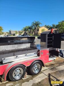 2010 Custom Open Bbq Smoker Trailer Open Bbq Smoker Trailer Flatgrill California for Sale
