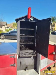 2010 Custom Open Bbq Smoker Trailer Open Bbq Smoker Trailer Hand-washing Sink California for Sale
