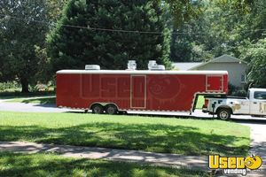 2010 Cvg3625w All-purpose Food Trailer Air Conditioning North Carolina Diesel Engine for Sale