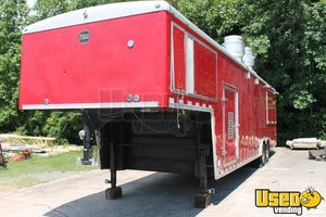 2010 Cvg3625w All-purpose Food Trailer Concession Window North Carolina Diesel Engine for Sale