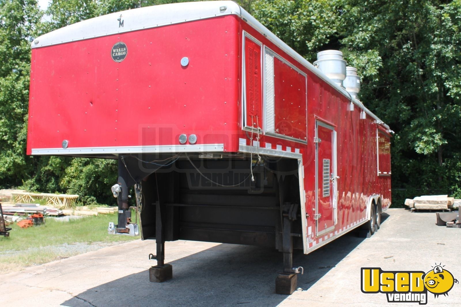 2010 Cvg3625w All-purpose Food Trailer Concession Window North Carolina Diesel Engine for Sale - 3