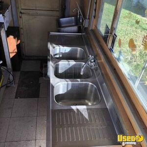 2010 Food Concession Trailer Concession Trailer Hand-washing Sink Florida for Sale