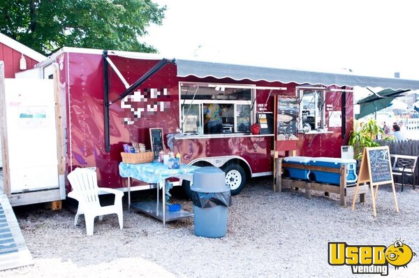 2010 Food Concession Trailer Kitchen Food Trailer Connecticut for Sale