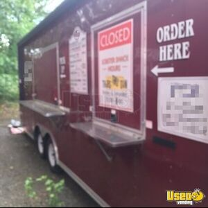 2010 Food Concession Trailer Kitchen Food Trailer Removable Trailer Hitch Connecticut for Sale