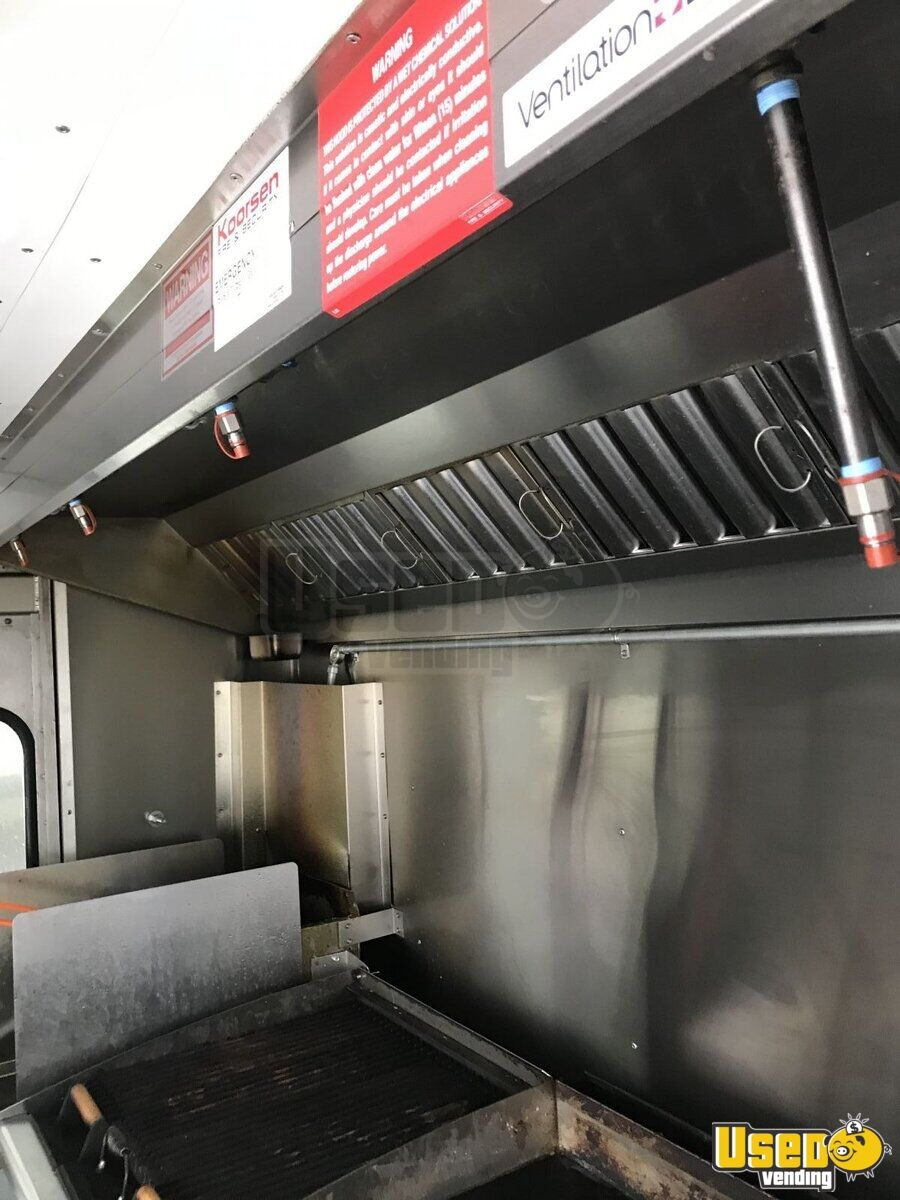 2010 Ford E350 All-purpose Food Truck Stainless Steel Wall Covers Ohio Gas Engine for Sale - 3