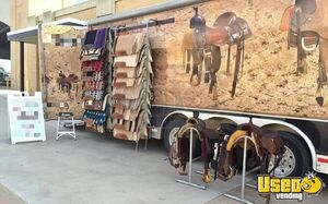 2010 Saddle And Tack Vending Trailer Other Mobile Business Air Conditioning Oklahoma for Sale