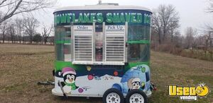 2010 Shaved Ice Concession Trailer Snowball Trailer Air Conditioning Kansas for Sale
