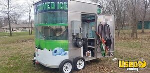 2010 Shaved Ice Concession Trailer Snowball Trailer Diamond Plated Aluminum Flooring Kansas for Sale