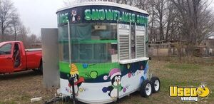 2010 Shaved Ice Concession Trailer Snowball Trailer Removable Trailer Hitch Kansas for Sale