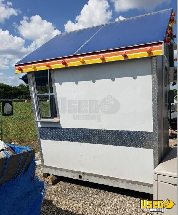 2010 Shaved Ice Concession Trailer Snowball Trailer Removable Trailer Hitch Texas for Sale - 4