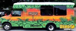 2011 3500 Express Mobile Beachwear Boutique Truck Mobile Boutique Trailer Sound System Florida Gas Engine for Sale