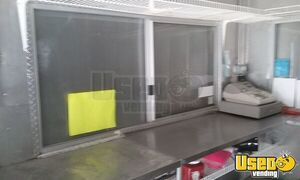 2011 Concession Trailer Stainless Steel Wall Covers Washington for Sale