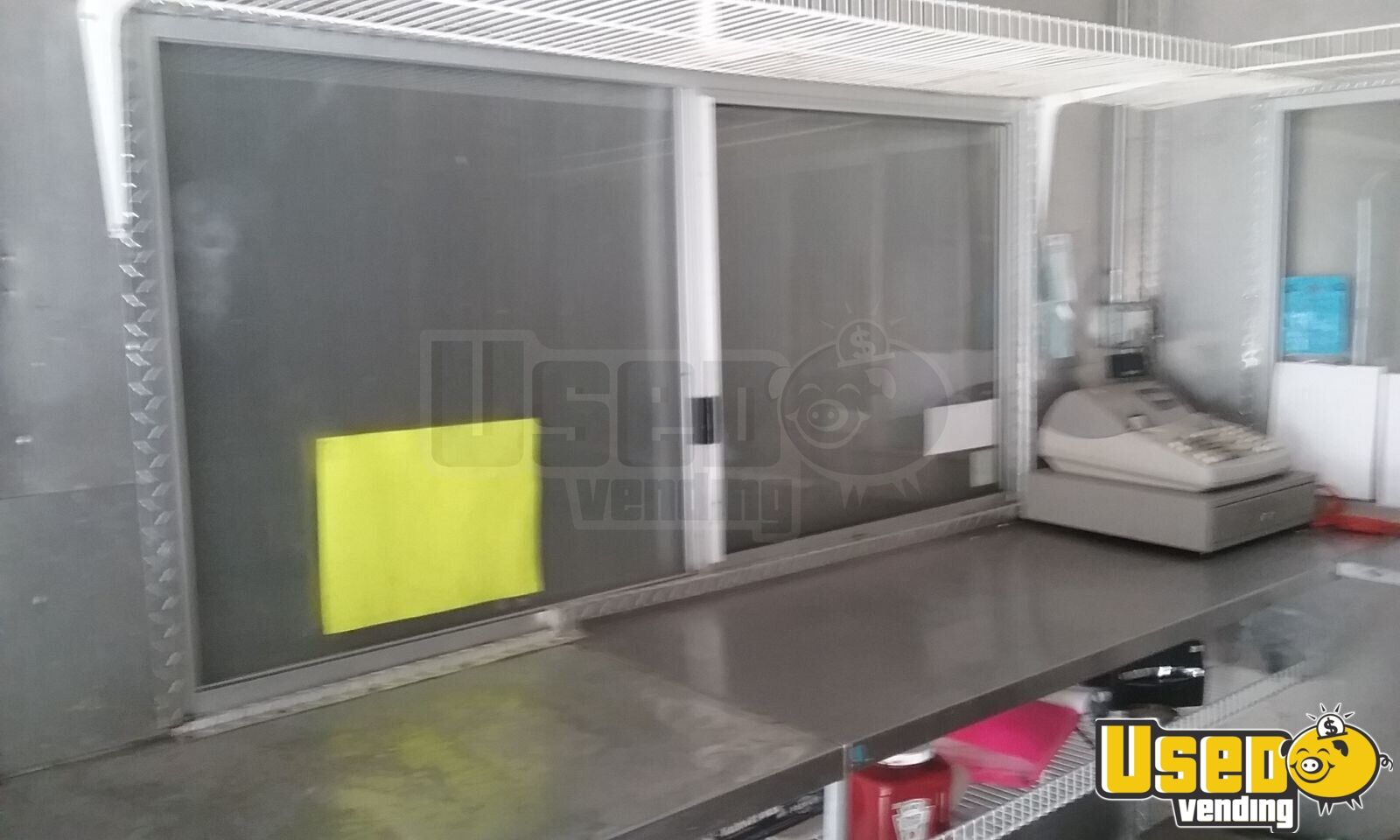 2011 Concession Trailer Stainless Steel Wall Covers Washington for Sale - 3