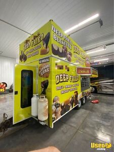 2011 Food Concession Trailer Concession Trailer Air Conditioning Ohio for Sale