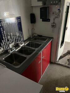 2011 Food Concession Trailer Concession Trailer Diamond Plated Aluminum Flooring Ohio for Sale