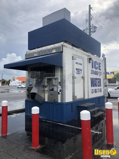 2011 Max Manufacturing Bagged Ice Machine Florida for Sale