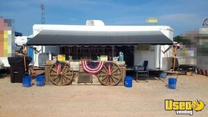 2011 Sharp Trailer Full 110 V Setup And Electric Awniing Beverage - Coffee Trailer Spare Tire Oklahoma for Sale