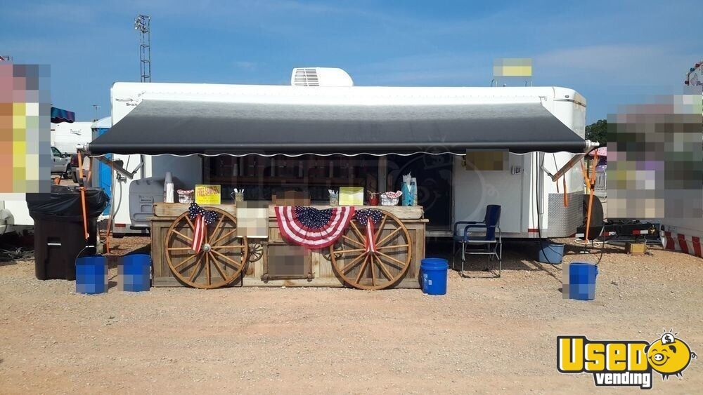 2011 Sharp Trailer Full 110 V Setup And Electric Awniing Beverage - Coffee Trailer Spare Tire Oklahoma for Sale - 3