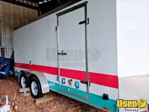 2011 Tsv7x16dt2 Food Concession Trailer Concession Trailer Exterior Customer Counter Ohio for Sale