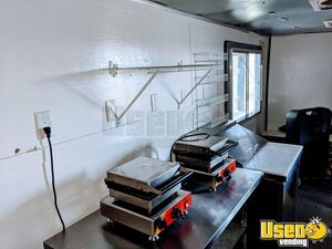 2011 Tsv7x16dt2 Food Concession Trailer Concession Trailer Exterior Lighting Ohio for Sale