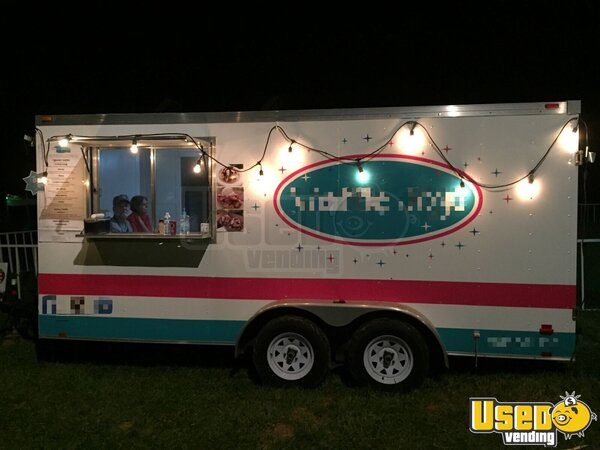 2011 Tsv7x16dt2 Food Concession Trailer Concession Trailer Ohio for Sale