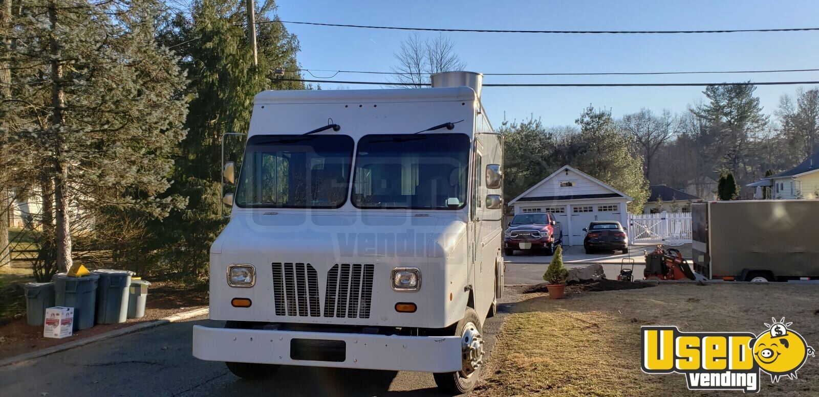 2011 Workhorse All-purpose Food Truck Backup Camera New Jersey Diesel Engine for Sale - 7