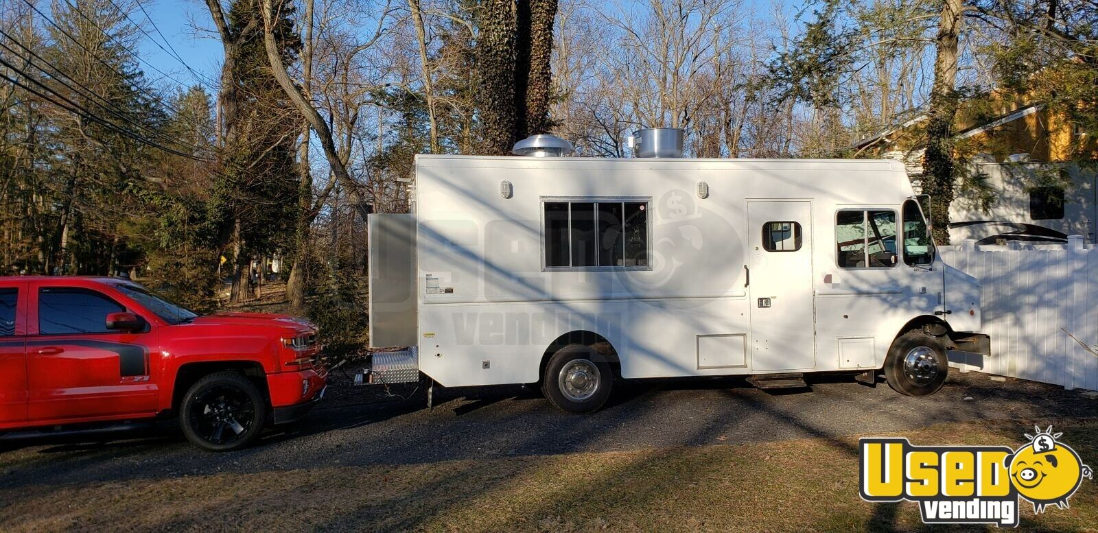 2011 Workhorse All-purpose Food Truck Concession Window New Jersey Diesel Engine for Sale - 3
