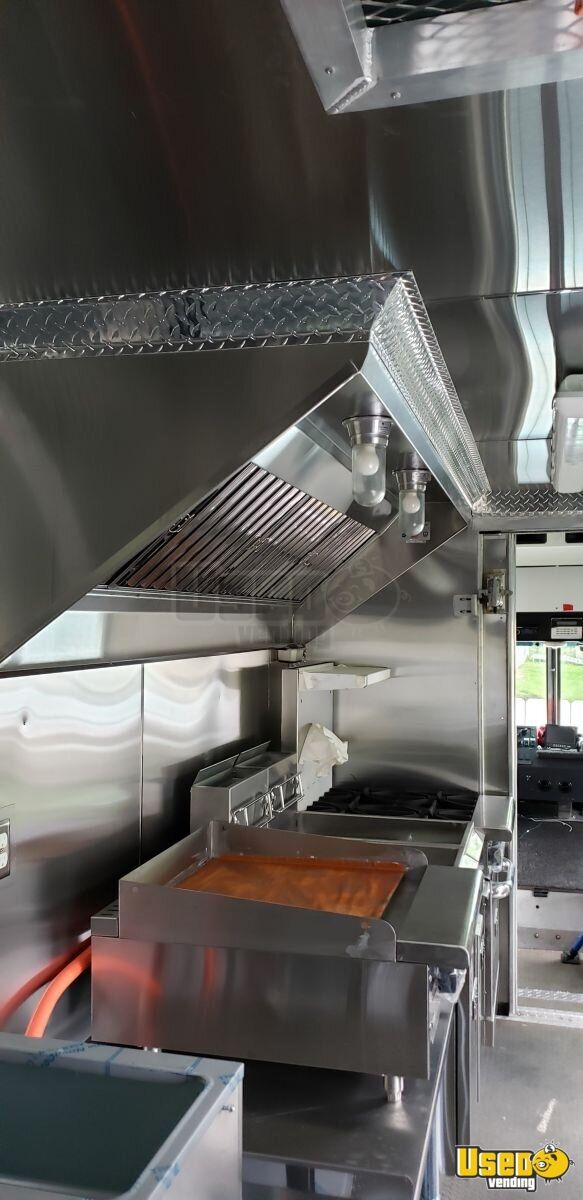 2011 Workhorse All-purpose Food Truck Flatgrill New Jersey Diesel Engine for Sale - 14