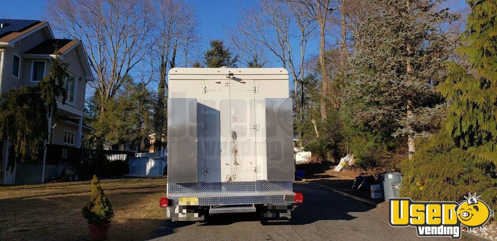 2011 Workhorse All-purpose Food Truck Stainless Steel Wall Covers New Jersey Diesel Engine for Sale - 4